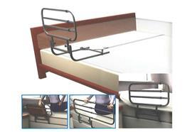 Seitengitter Pivot-Rail verstellbar für eine Seite, Verstellbar von 66 cm auf 86 cm/106 cm