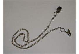 Serviettenkette 45cm mit Clips
