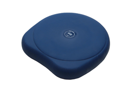 Sitfit Plus Ø37cm azur-blau Sitz-& Bewegungshilfe,aktives Sitzen, 2-in-1 Funktion latexfr.