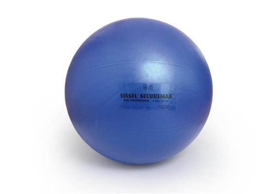 Sitzball Professional 55cm eisblau belastbar bis 1000Kg platzsicher bis 165Kg stat. Gew.