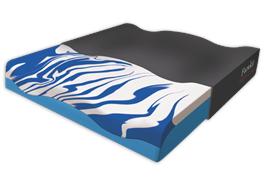 Sitzkissen Gelseat Bezug Mesh schwarz mit Cooling-Effekt 42x44x8 cm