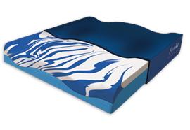 Sitzkissen Premium Gel blau mit Cooling-Effekt 38x40x8 cm