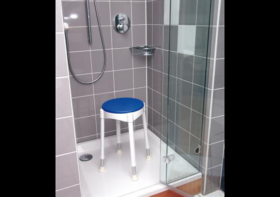 Softsitz für Duschhocker Komfort (fest fixiert, Komfort bei Druck-Empfindlichkeit)