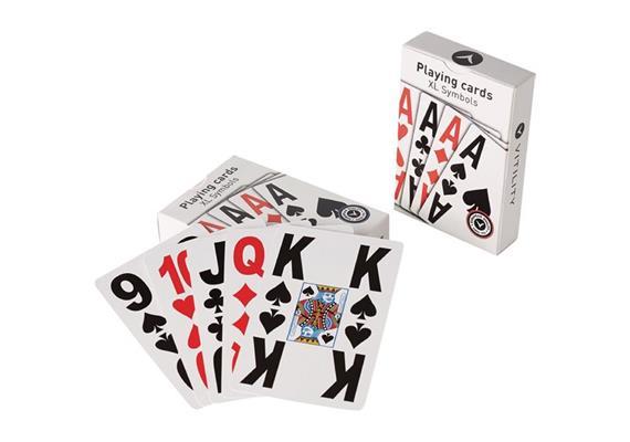 Spielkarten mit Grossdruck