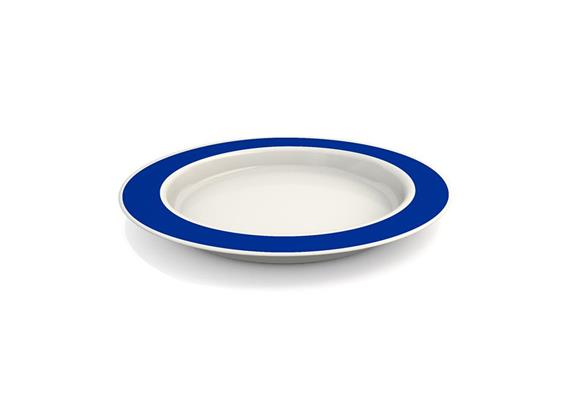 Teller Vital 921 Ø 26 cm blau mit Kipp-Trick, Füllmenge: 400 ml, spülmaschinenfest