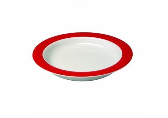 Teller Vital 921 Ø 27 cm rot mit Kipp-Trick, Füllmenge: 400 ml, spülmaschinenfest