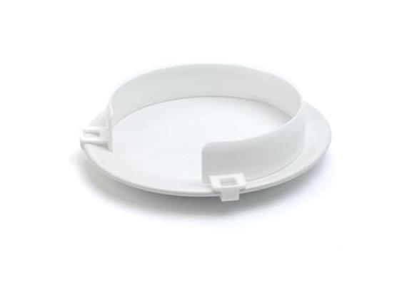 Tellerrand aussen weiss, mikrowellengeeignet, für Teller-Ø 19 bis 25,4cm(Tellereinfassung)