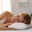 TEMPUR Kissen Comfort Travel 40x26 cm  mit Bezug Velours beige | Bild 2