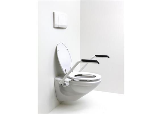 """Toilettenarmstützen """"Messerli"""" inkl. Sitzgarnitur"""