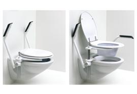 Toilettenaufsatz höhenverstellbar