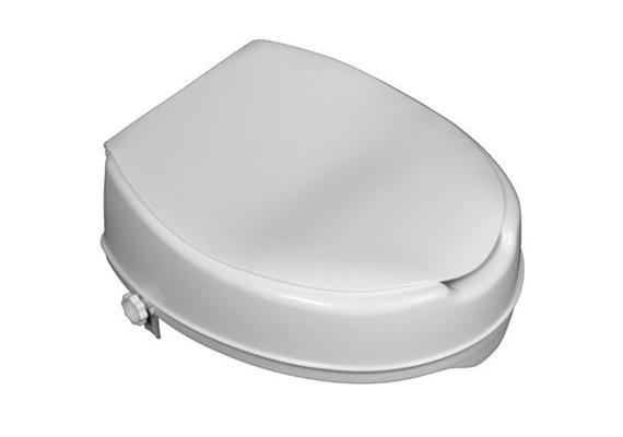 Toilettenaufsatz Mobi Basic 10cm mit Deckel + Schraubbefestigung