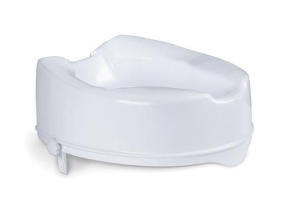 Toilettenaufsatz Mobi Basic 14cm ohne Deckel + Schraubbefestigung