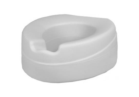 Toilettenaufsatz weich CONTACT 10cm grau