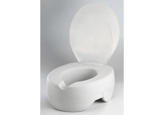 Toilettenaufsatz weich mit Deckel Contact Plus