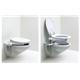 Toilettensitzerhöhung ohne Armlehnen max. 120 kg