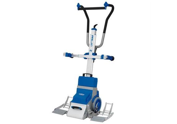 Treppensteiggerät Sano für Rollstuhl-Transport