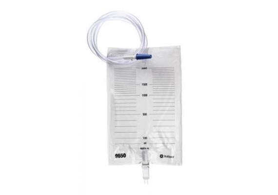 Urin-Nachtbeutel STERIL mit Auslass+Abl.Schlauch 120cm, 2000ml / 1 Stk