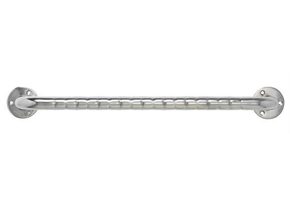 Wandhaltegriff Edelstahl 60cm Oberfläche geriffelt