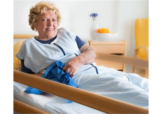 Zewi-Fixierungs-Decke blau für Erwachsene (Pflege-Decke)